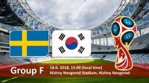 Nhận định Thụy Điển vs Hàn Quốc, 19h00 ngày 18/06: Khó đạt mục tiêu
